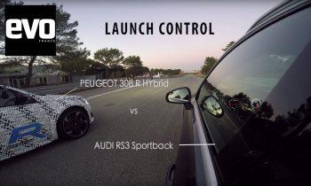Peugeot 308 R HYbrid vs Audi RS3
