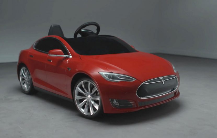 Tesla Model S speelgoedauto