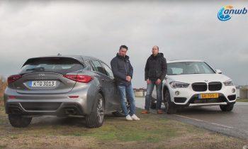 Vergelijkende test BMW X1 XDrive 25i vs. Infiniti Q30 2.0t