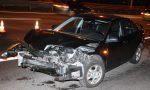 Mazda met flinke schade