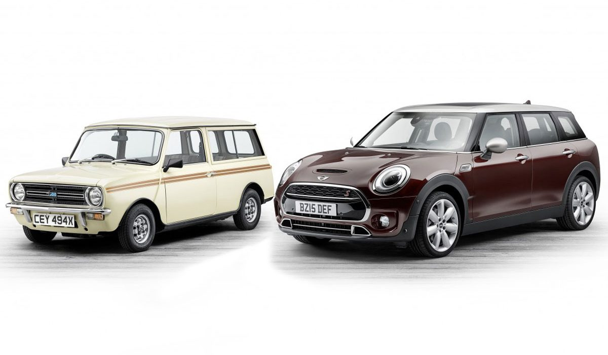Mini Clubman 2016 vs old Mini Clubman