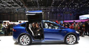 Tesla Model X Geneve 2016