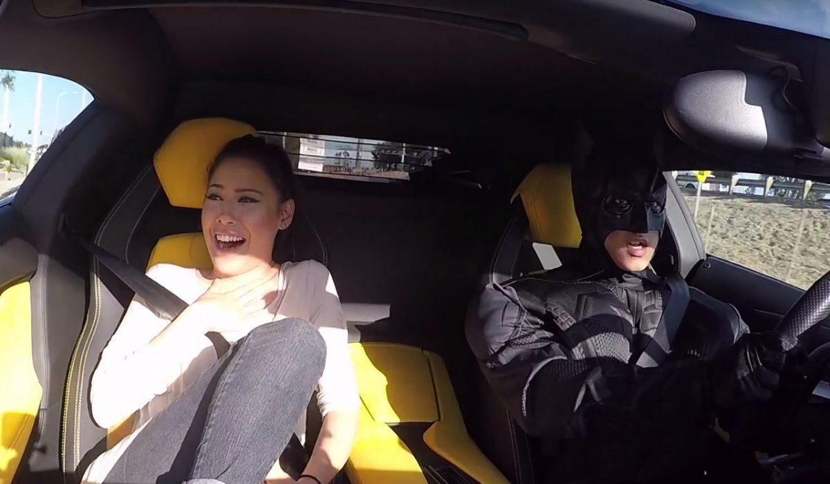 Uber Lease Car >> Uber-Prius blijkt Batman met Lamborghini | CARBLOGGER