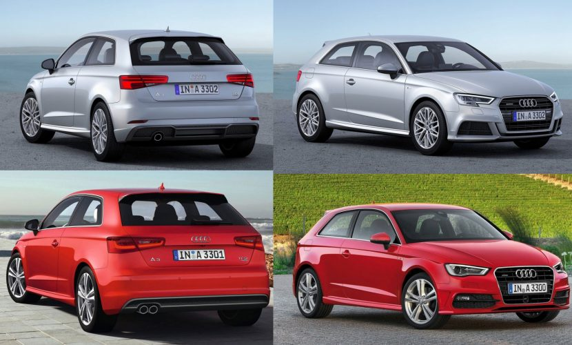 Audi A3 2016 vs. 2012