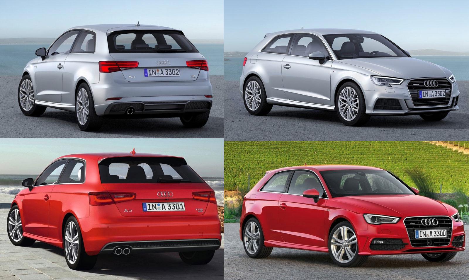 Audi A3 2016 vs. 2012: zoek de verschillen   CARBLOGGER