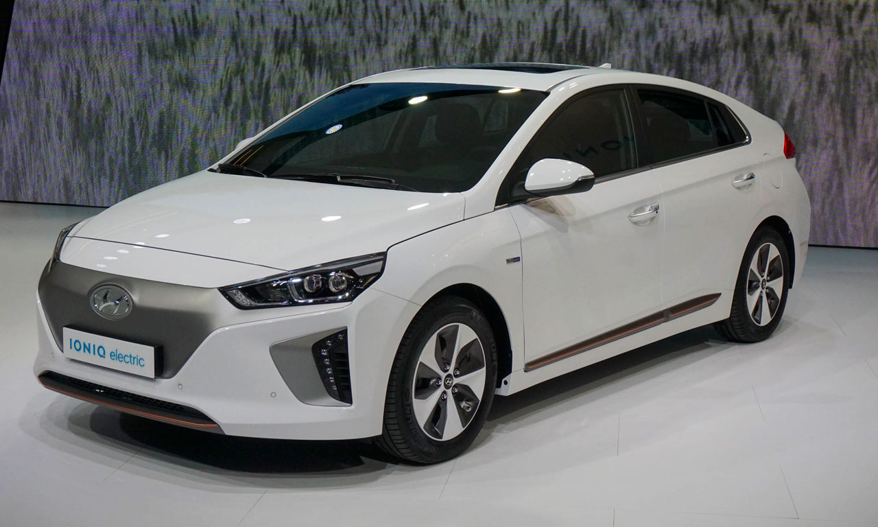 Hyundai Ionic Electric | CARBLOGGER