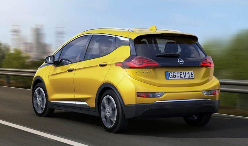 Opel Ampera E achterkant