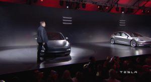 Tesla Model 3 introductie 1 april 2016