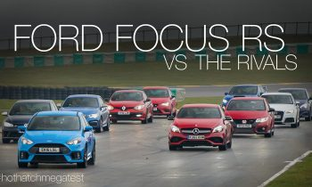 Ford Focus RS 2016 vs concurrenten
