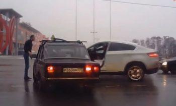 BMW X6 aanrijding