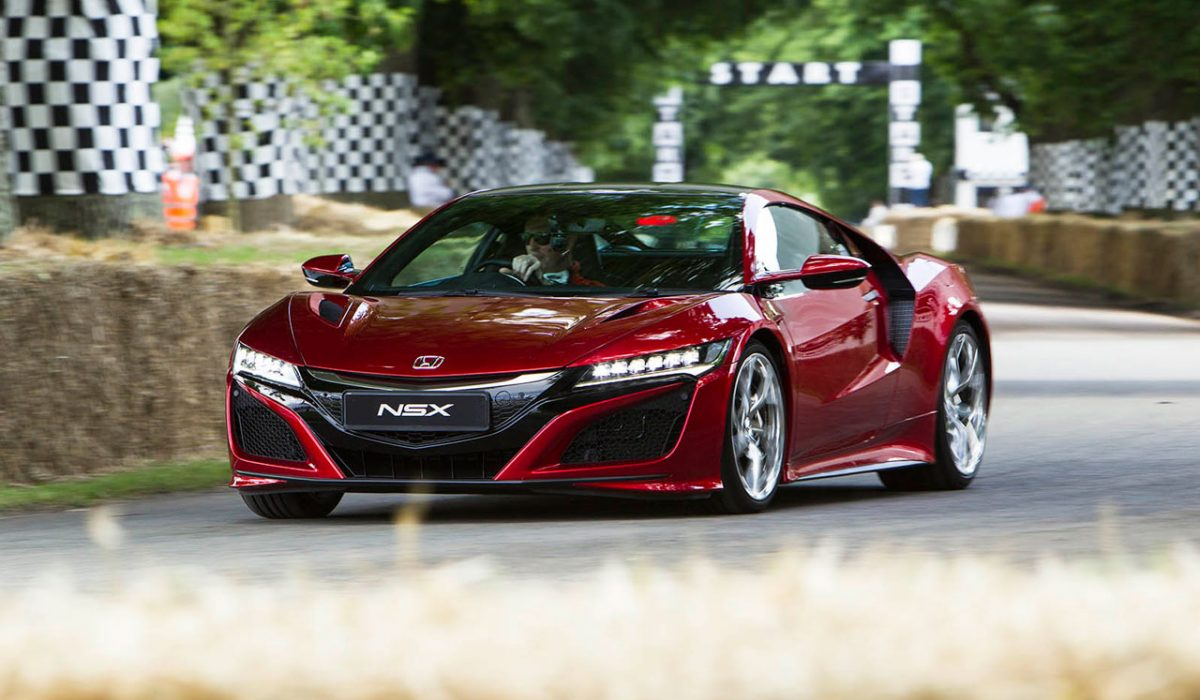 Nonda NSX 2016 Goodwood