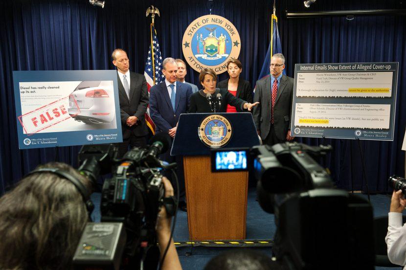 De aanklagers van New York, Massachusetts en Maryland houden hun verhaal