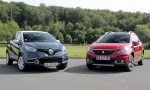 Renault Captur vs Peugeot 2008 (2016)