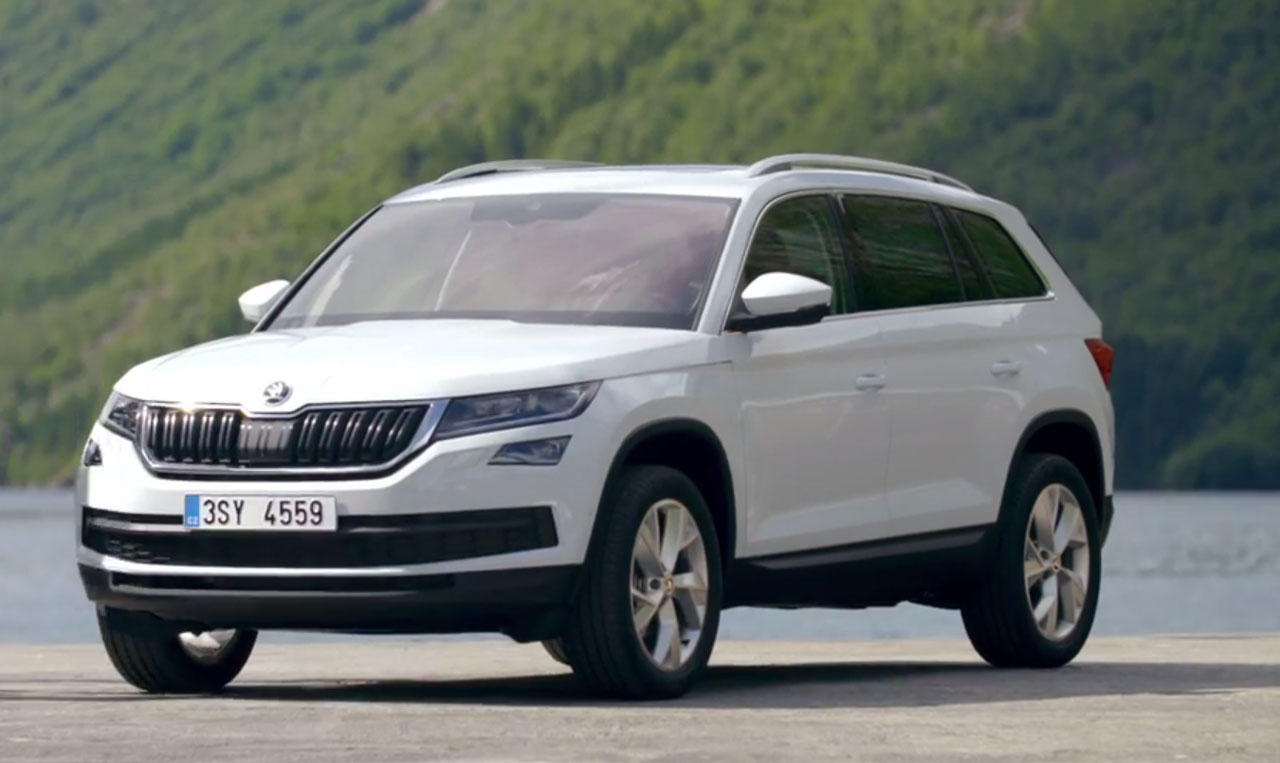 skoda kodiaq prijsbewuste 7 zits suv carblogger. Black Bedroom Furniture Sets. Home Design Ideas