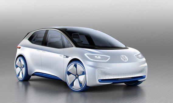 Volkswagen I.D. concept car Paris 2016