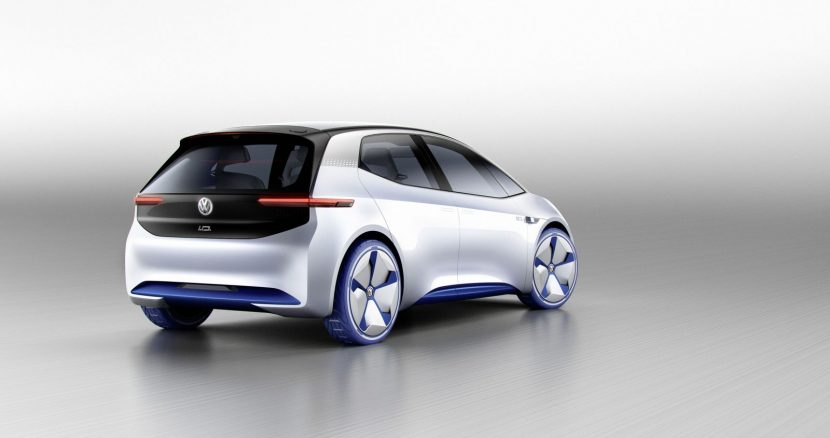 Volkswagen I.D. concept car Paris 2016
