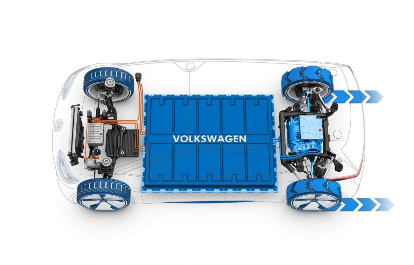 Volkswagen ID drivetrain