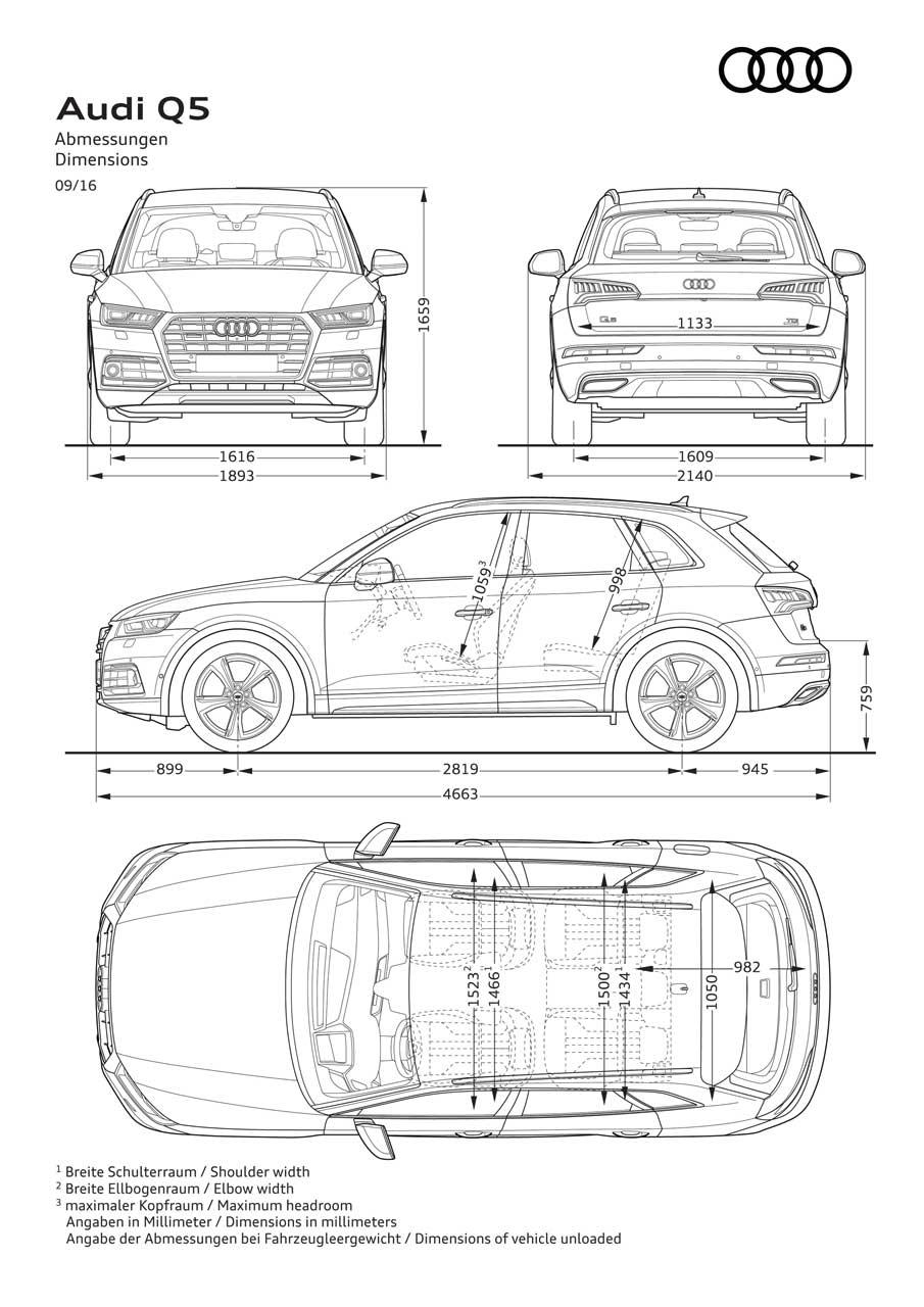 Test Audi Q5 2017 Voorspelbaar Goed Carblogger