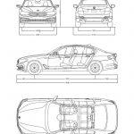 Afmetingen BMW 5-serie 2017