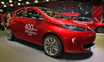 Renault Zoe, elektrische auto met 400km bereik (NEDC)
