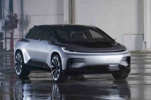 Faraday Future FF 91 voorzijde