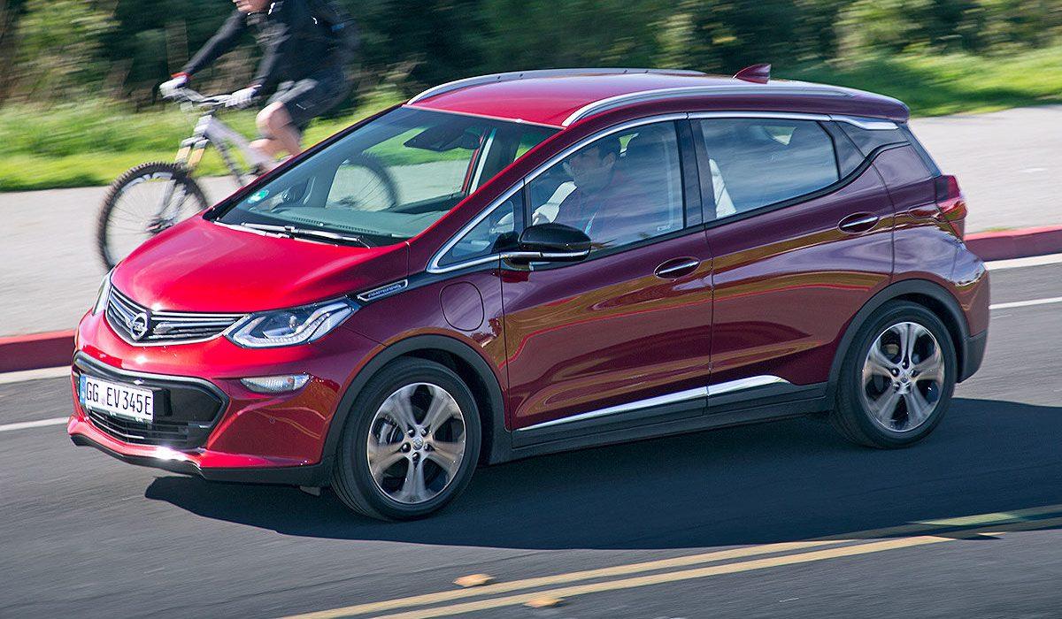 Opel Ampera E Belangrijkste Elektrische Auto Van 2017