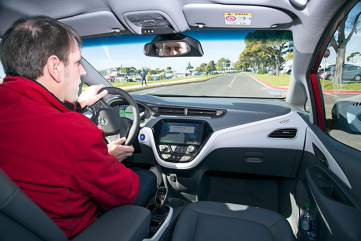 Interieur Opel Ampera-E 2017