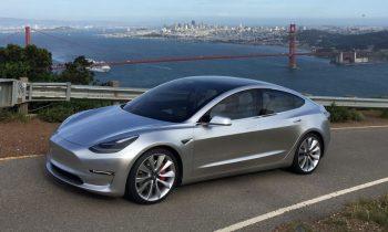 Tesla Model 3 2017 (release candidate)