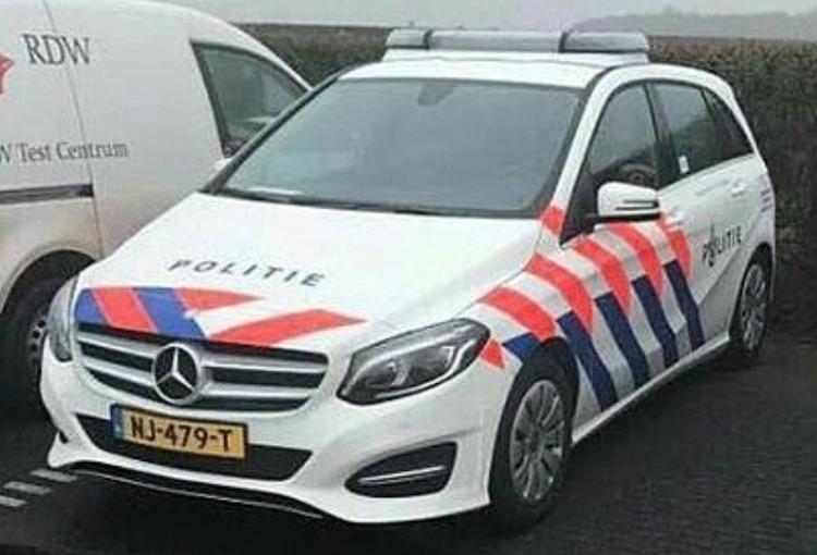 Mercedes B-klasse politie