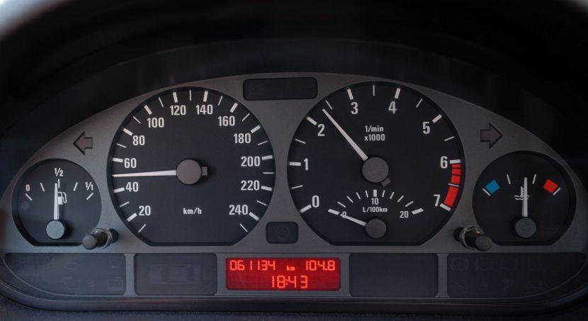 BMW 320i: geen pijltje