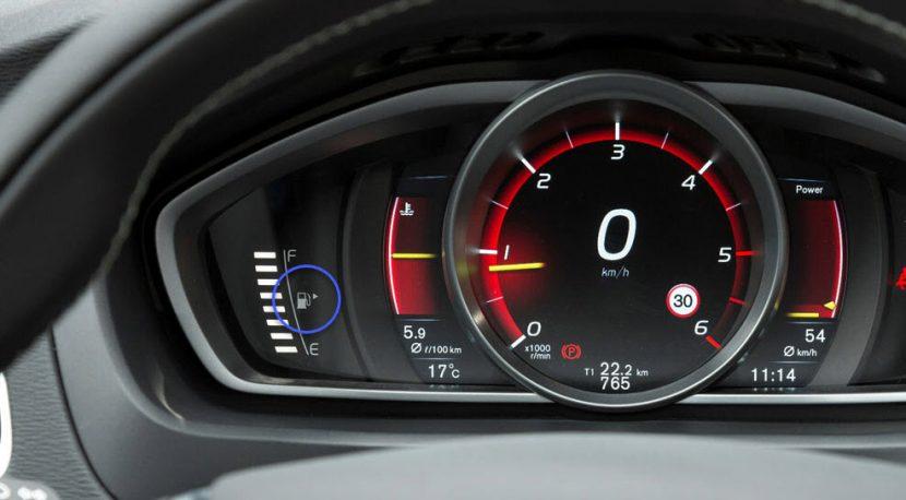 Volvo V40: tankdop zit rechts