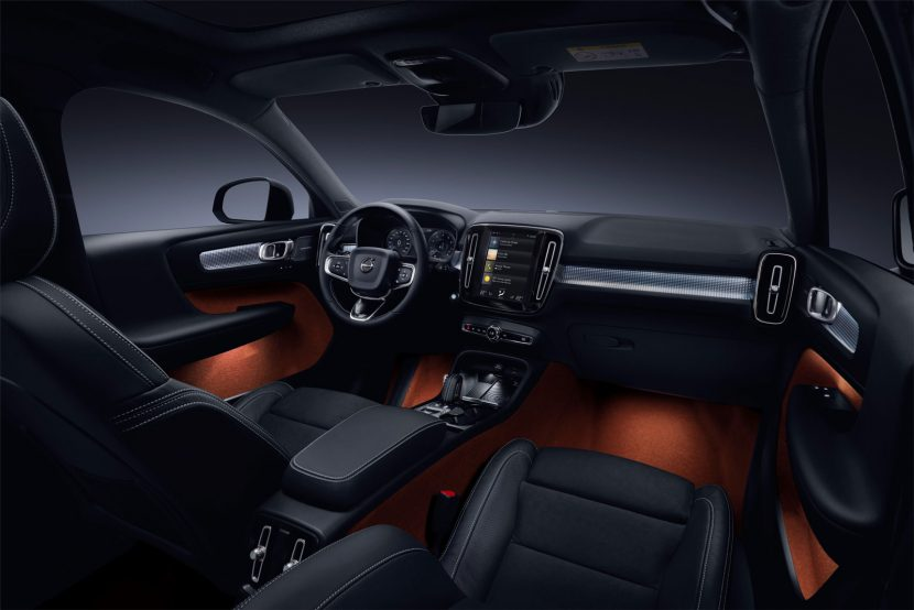 Volvo XC40 - interieur