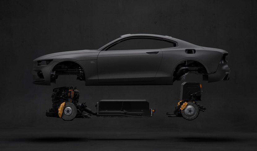 Polestar 1 carbon body + hybride aandrijflijn