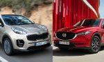 Test Mazda CX5 vs Kia Sportage