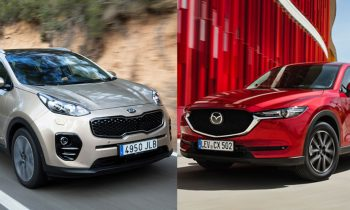 Test Mazda CX5 vs Kia Sportage