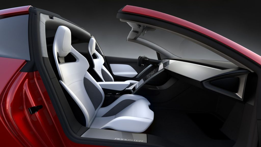 Interieur Tesla Roadster 2017