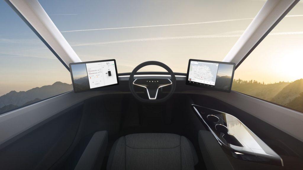 Tesla Semi interieur 2017