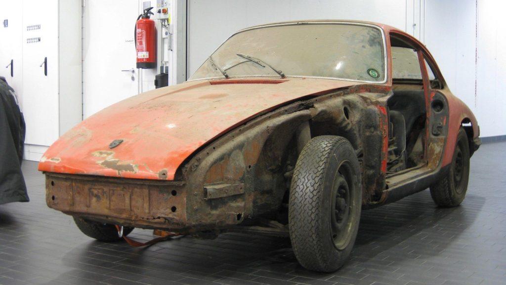 Porsche 901 uit 1964 schuurvondst