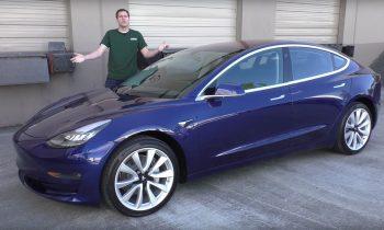 Test Tesla Model 3 (2017)