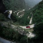 Range Rover Sport op Tianmen Mountain, China (5)