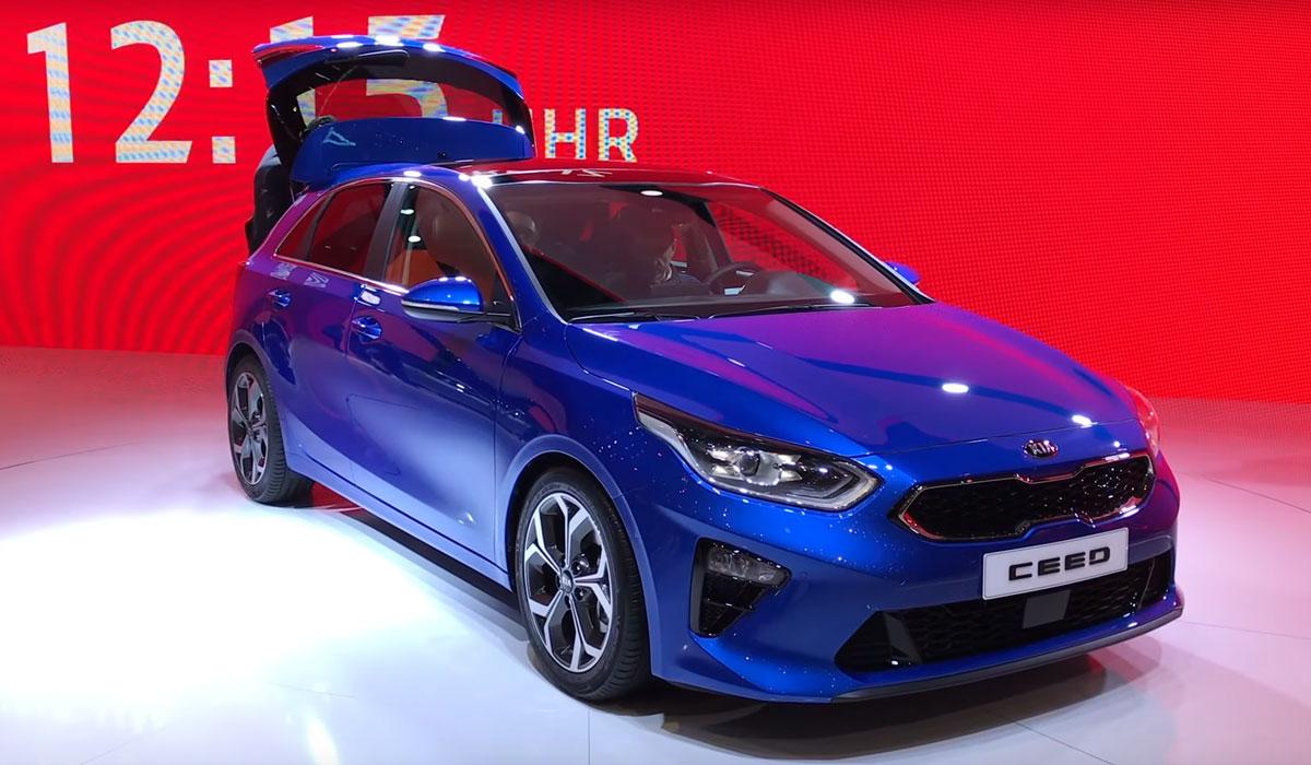 Kia Ceed 2018 op de Autosalon van Geneve