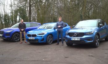 Test Volvo XC40 vs BMW X2 vs Jaguar E-pace