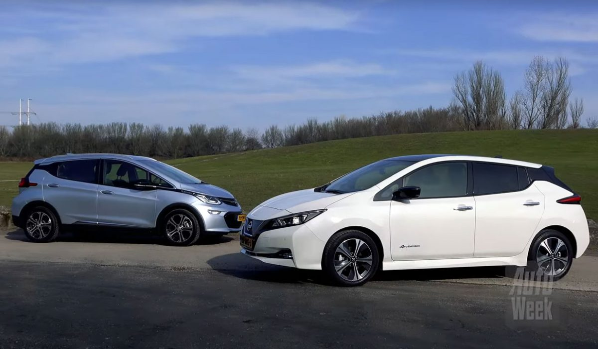 Nissan Leaf Lease >> Test Nissan Leaf vs. Opel Ampera-e (2018) | CARBLOGGER