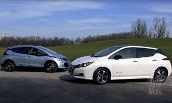 Nissan Leaf vs Opel Ampera-e 2018