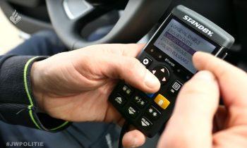 Gadgets op politie Audi A6