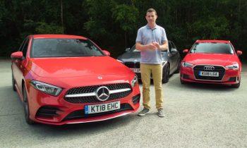 Mercedes A-klasse vs BMW 1-serie vs Audi A3 (2018)