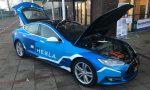 Hesla: een Tesla Model S met brandstofcel
