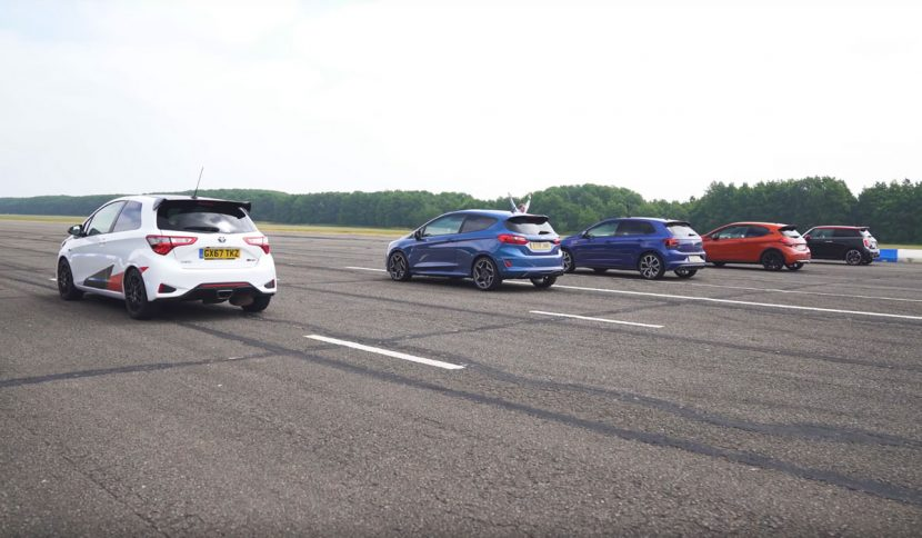 Yaris GRMN vs. Fiesta ST vs. Polo GTI vs. 308 GTI vs. Mini John Cooper Works