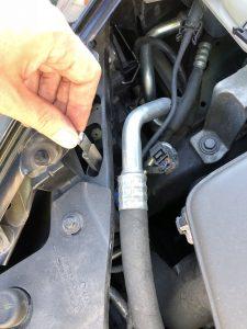 Pin loshalen koplampunit Volvo C30