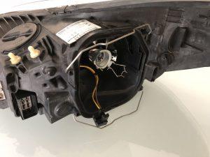 Koplampunit zonder H7-lampje Volvo C30